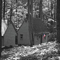 American Little House In The Woods by Jost Houk
