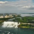 American Niagara Falls #2 by Ginger Wakem