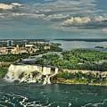 American Niagara Falls  by Ginger Wakem