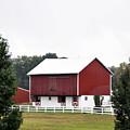 American Red Barn II Indiana by Sally Rockefeller