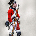 American Revolution British Soldier  by Randy Steele