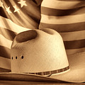 American Rodeo Cowboy Hat by American West Legend By Olivier Le Queinec