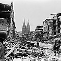 American Soldiers In Cologne, Germany by H. Armstrong Roberts/ClassicStock