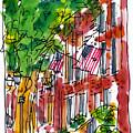 American Street Philadelphia by Marilyn MacGregor
