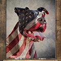 American Strong Flag Poster by Tim Wemple