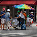 Americana - Mountainside Nj - Buying Ices  by Mike Savad
