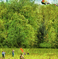 Americana - People - Let's Go Fly A Kite by Mike Savad