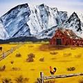 Americana - Plains Of Colorado by Bev Conover