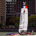 America's Cup Groupama Team France by Susan Candelario