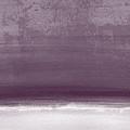Amethyst Shoreline- Abstract Art By Linda Woods by Linda Woods