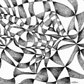 Amidst Silken Sheets by Hakon Soreide
