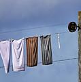 Amish Clothesline by John Greim