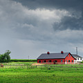 Amish County Landscape by Sinitar Photo