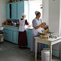 Amish Kitchen by Fred Lassmann