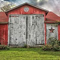 Amish Red Barn by James DeFazio