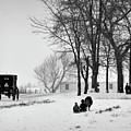 Amish Sled Ride by David Arment