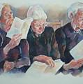 Amish Trio by Sherri Crabtree