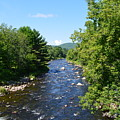 Ammonoosuc River by Meandering Photography