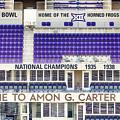 Amon Carter Stadium Tcu by Rospotte Photography