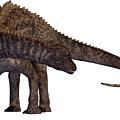 Ampelosaurus Armored Dinosaur by Corey Ford