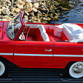 Amphicar Red  by David Lee Thompson