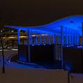 Amphitheater In Blue by Gary Rieks