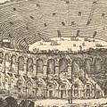 Amphitheater Of Verona by Giovanni Battista Piranesi