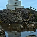 Amphitrite Point Lighthouse Reflections by Adam Jewell
