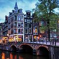Amsterdam At Twilight by Artur Bogacki