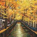 Amsterdam Autumn by Johnathan Harris