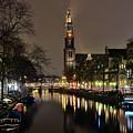 Amsterdam By Night - Prinsengracht by Carlos Alkmin
