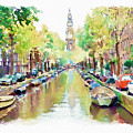 Amsterdam Canal 2 by Marian Voicu