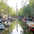 Amsterdam Canal by Al Blackford