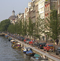 Amsterdam Canal by Andy Smy