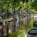 Amsterdam Canal by Joan Carroll