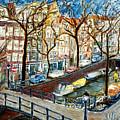Amsterdam Canal by Joan De Bot