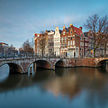 Amsterdam Canal by Menno Schaefer