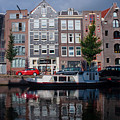 Amsterdam Canal by Thomas Marchessault