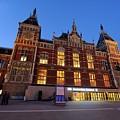 Amsterdam Central Station by Merijn Van der Vliet