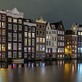 Amsterdam City Lights by Menno Schaefer