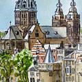 Amsterdam Holland by Irina Sztukowski