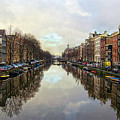 Amsterdam Reflected by Spade Photo