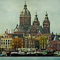 Amsterdam Skyline by Jill Smith