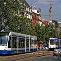 Amsterdam Tram by Anthony Dezenzio