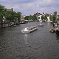 Amsterdam Water Scene by Sally Weigand