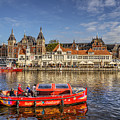Amsterdam Waterfront by Uri Baruch