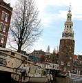 Amsterdam Waterviev by Lucrecia Cuervo