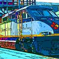 Amtrak Locomotive Study 2 by Samuel Sheats