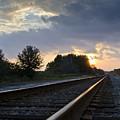 Amtrak Railroad System by Carolyn Marshall