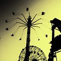 Amusements In Silhouette by Cate Franklyn